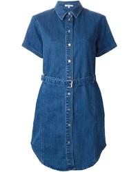 Vestido camisa vaquera azul