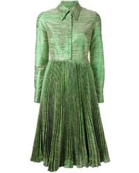 Vestido camisa verde de Manoush