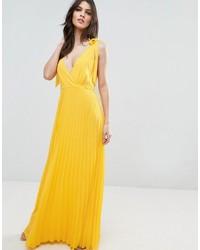 Vestido camisola amarillo