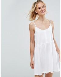 Vestido camisola blanco de Asos