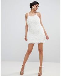 Vestido camisola blanco de Glamorous