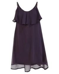 Vestido camisola morado oscuro de Vero Moda