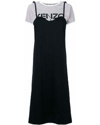 Vestido camisola negro de Kenzo