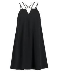 Vestido camisola negro de River Island
