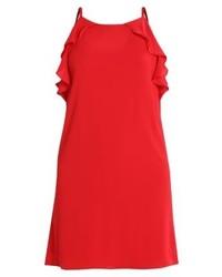 Vestido camisola rojo de Jennyfer