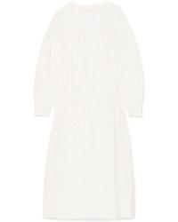 Vestido campesino blanco de See by Chloe