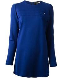 Vestido casual azul de Dsquared2