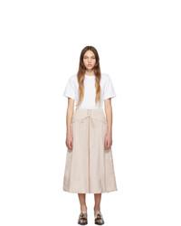 Vestido casual blanco de 3.1 Phillip Lim