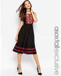 excepcional gama de estilos tecnologías sofisticadas Nueva York Comprar un vestido casual bordado negro de Asos: elegir ...