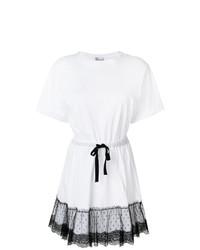 Vestido casual de encaje blanco de RED Valentino
