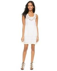 Vestido casual de encaje blanco de Sea