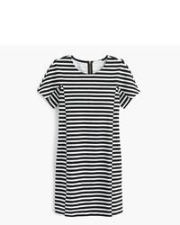 Vestido casual de rayas horizontales