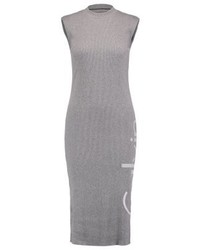 Vestido Casual Gris de Calvin Klein