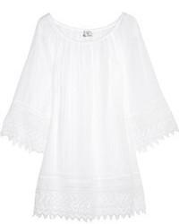 Vestido casual ligero blanco de Miguelina