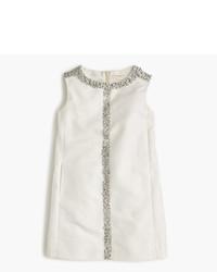 Vestido con adornos blanco