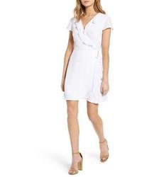 Vestido cruzado blanco
