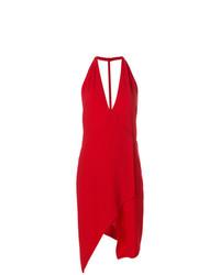 Vestido cruzado rojo de IRO