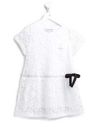 Vestido de encaje blanco de Simonetta