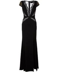 Vestido de encaje negro de Philipp Plein