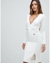 Vestido de esmoquin blanco de Outrageous Fortune