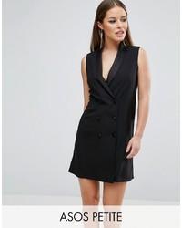 Vestido de esmoquin negro de Asos