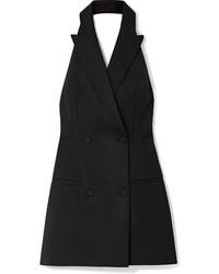 Vestido de esmoquin negro de Sara Battaglia