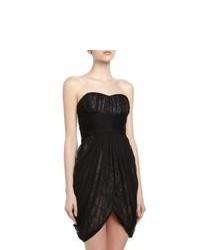 Vestido de fiesta de encaje negro
