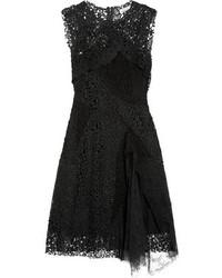Vestido de Fiesta de Encaje Negro de Nina Ricci