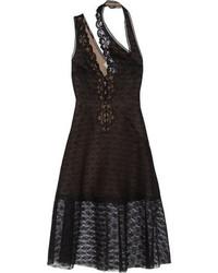 Vestido de Fiesta de Encaje Negro de Stella McCartney