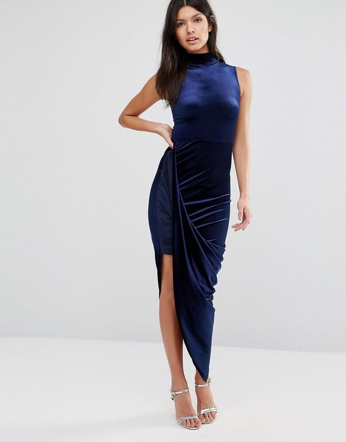 Como combinar vestido azul marino de fiesta