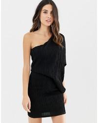 Vestido de fiesta negro de ASOS DESIGN