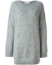 Vestido de lana de punto gris de Golden Goose Deluxe Brand