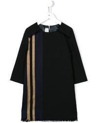 Vestido de lana negro