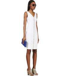 Vestido blanco de lino