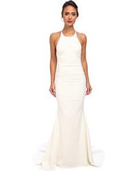 Vestido de noche blanco