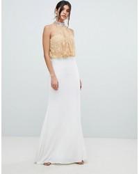 Vestido de noche blanco de Forever Unique