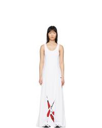 Vestido de noche blanco de Reebok by Pyer Moss