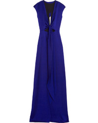 70104405f8 Comprar un vestido de noche con recorte azul marino  elegir vestidos ...
