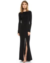 Vestido de Noche con Recorte Negro de Rachel Zoe