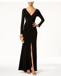 Vestido de Noche con Recorte Negro de Xscape Evenings