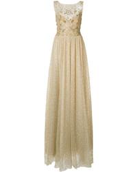Vestido de Noche Dorado de Marchesa