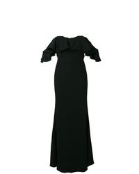 Vestido de noche negro de Alexander McQueen