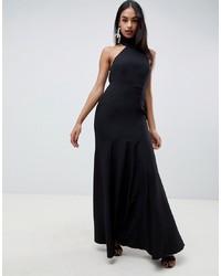 Vestido de noche negro de ASOS DESIGN