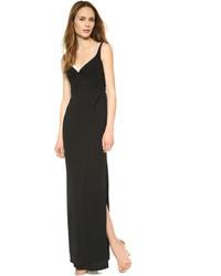 Vestido de noche negro de Marc Jacobs