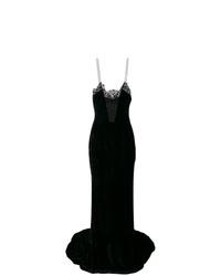 Vestido de noche negro de Stella McCartney