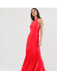 Vestido de noche rojo de ASOS DESIGN