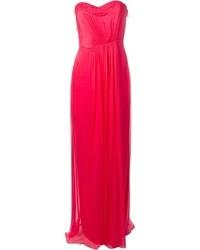 Vestido de noche rosa