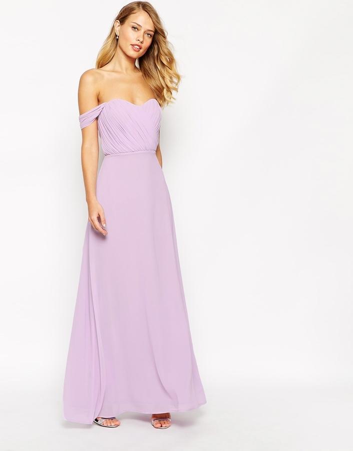 Vestido de Noche Violeta Claro de Jarlo: dónde comprar y cómo combinar