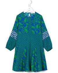 Vestido de paisley azul de Stella McCartney