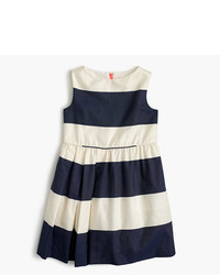 Vestido de rayas horizontales